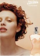 """Grande Carte Glacée Jean-Paul GAULTIER  """"CLASSIQUE"""" - Perfume Card USA - Duftkarten"""