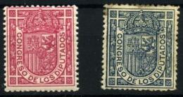 España Nº 230/31. Año 1896/98 - Nuovi