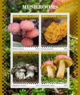 Sierra Leone. 2019 Mushrooms. (0913a)  OFFICIAL ISSUE - Funghi