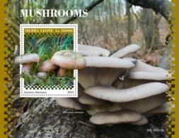 Sierra Leone. 2019 Mushrooms. (0913b)  OFFICIAL ISSUE - Funghi