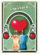 """Carte Postale Dentelée Jean-Paul GAULTIER  """"CLASSIQUE"""" LOVE - Cartes Parfumées"""