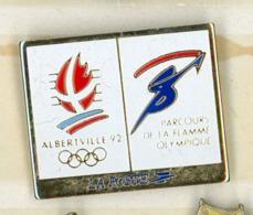 N# - PIN'S:  ALBERTVILLE 92 LA POSTE - Wintersport