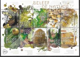 NETHERLANDS, 2019, MNH, FLORA, TREES, LEAVES, SHEETLET - Childhood & Youth