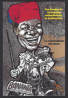 CPM Deux Cartes Banania Semaine Anticoloniale Et Antiraciste Par Jihel + épreuve Unique - Publicité