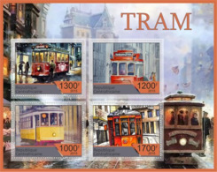 Ensemble De Blocs De Tramway - Strassenbahnen