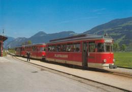 AK Eisenbahn Tirol Zillertalbahn Bahnhof Fügen-Hart 1994 DB Ravensburg-Baienfurt Österreich Austria Autriche The Tyrol - Eisenbahnen