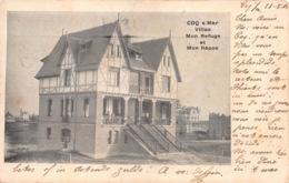 België West-Vlaanderen De Haan  Coq Sur Mer  Villas Mon Refuge Et Mon Repos       M 866 - De Haan