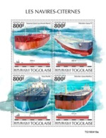 Togo. 2019 Tankers.  (0419a)  OFFICIAL ISSUE - Schiffe