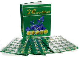 SAFE 8556 B2 Twin TopSet-Album 2-Euro (4 Blatt, 2012-2014) - Supplies And Equipment