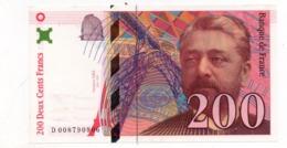 200 Francs - Gustave Eiffel  1996 - 1992-2000 Aktuelle Serie