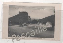 26 DROME - CP COURSE ( AUTOMOBILE ) DE COTE DE MARSANNE - BUGATTI AU VIRAGE - PHOTO JOGUET MONTELIMAR / CLICHE BASTIDE - Francia