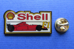 Pin's,SHELL F1,AUTOSPORT, Fuel - Carburants