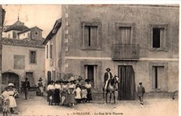 Dépt 34 - St Nazaire (Saint-Nazaire-de-Pézan) - Rue De La Placette - Andere Gemeenten
