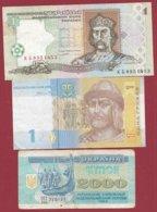 Ukraine 3 Billets Dans L 'état ----(7) - Oekraïne