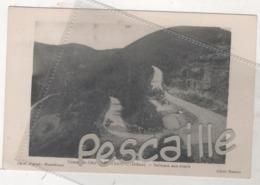 26 DROME - CP COURSE ( AUTOMOBILE ) DE COTE DE MARSANNE - SALMSON AUX ESSAIS - PHOTO JOGUET MONTELIMAR / CLICHE BASTIDE - Francia