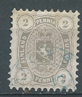 Finlande - Yvert N° 13 A Oblitéré  ( Dentele 11 )   -  Ad 40105 - 1856-1917 Amministrazione Russa