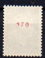 0,25 Cheffer : N° 1535a Neuf ** - N° Rouge Au Verso - Cote 75€ - 1967-70 Marianne De Cheffer