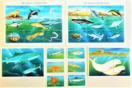 # Tanzania 1999**Mi.3677-3702 Marine Animals , MNH [25;17] - Peces