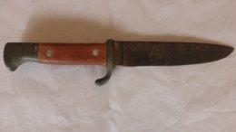 COUTEAU ALLEMAND 2ème GUERRE - DAGUE / POIGNARD / DE COMBAT - Knives/Swords