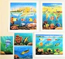 # Comores 1998**Mi.1228-60  Fishes , MNH [26;10] - Fische