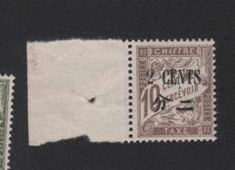 Faux Timbre De Chine Taxe N° 25 2 C Sur 10 C Duval Gomme Sans Charniére - Chine (1894-1922)