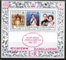 BANGLADESH  Scott # 125a** VF MINT NH Souvenir Sheet (SS-462) - Bangladesh