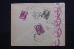 IRAN - Affranchissement Plaisant Au Verso D'une Enveloppe Commerciale De Téhéran Pour Hamburg En 1941 - L 46153 - Iran