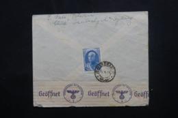 IRAN - Affranchissement Plaisant Au Verso D'une Enveloppe Commerciale De Téhéran Pour Berlin En 1941 - L 46154 - Iran