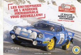 12e Rallye Monte-Carlo Historique 2009  -  Lancia Stratos  -  CPM - Rally