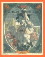 étiquette De Vin Crozes Hermitage Cuvée Des Dieux 1984 J P Barillet à Gervans - 75 Cl - Vin De Pays D'Oc