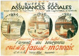 B60045 CPM Illustrateur Grandjouan  , Affiche Pour La CGTU - Zonder Classificatie