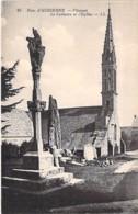 29 - PLOZEVET ( Environs D'AUDIERNE ) Le Calvaire Et L'Eglise - CPA Village ( 2.980 Habitants ) - - Plozevet