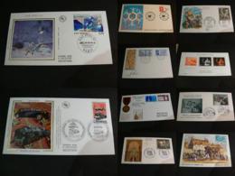 FRANCE - Lot De 10 Documents Divers (enveloppes 1er Jour En Majorité) - TBE - Briefmarken