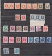 Belgique Entre 191 Et 208 - Petit Lot ** - 1922-1927 Houyoux