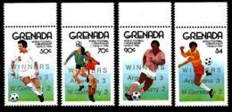 Granada Nº 1339/42 En Nuevo - Grenada (1974-...)