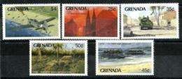 Granada Nº 1886/90 En Nuevo - Grenada (1974-...)