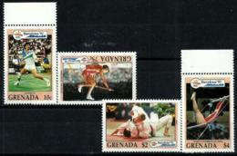 Granada Nº 2142/45 En Nuevo - Grenada (1974-...)