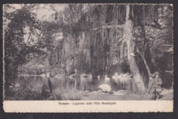 TERAMO - Laghetto Della Villa Municipale - F/P - V: 1927 - Teramo