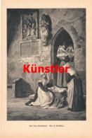 1407-2 V. Carstens Findelhaus Kloster Schwestern Kunstblatt 1886 !! - Estampes