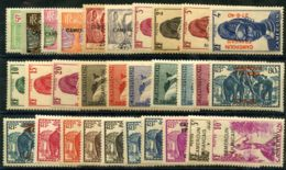 Cameroun (1940) N 202 à 232 * (charniere) - Neufs