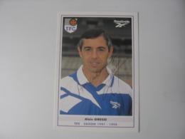 Football - Autographe - Carte Signée Alain Giresse - Football