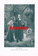 1410 Hans Koberstein Eine Beichte Pfarrer Kunstblatt 1905 !! - Estampes