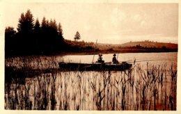 39 .20536 .clairvaux Les Lacs .un Coin Du Petit Lac .barque .pecheurs . - Clairvaux Les Lacs