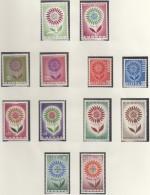 EUROPA CEPT 1964, Postfrisch **, Gemeinschaftsausgaben Komplett, 36 Marken, Blume - Europa-CEPT