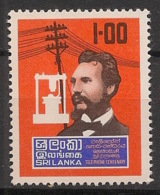 Sri Lanka - 1976 - N°Yv. 481 - Graham Bell - Neuf Luxe ** / MNH / Postfrisch - Telecom