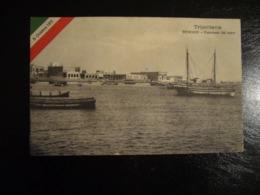 1912  TRIPOLITANIA    BENGASI   PANORAMA DAL MARE - Libia