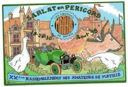 CPM       RASSEMBLEMENT INTERNATIONAL AMATEURS DE MATHIS    1998    SARLAT   ILLUSTR. P. HAMM - Borse E Saloni Del Collezionismo