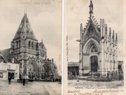 MOREUIL - L'Eglise Animée - Chapelle De La Marquise Du Plessis-Bellière - Moreuil