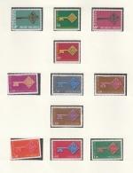 EUROPA CEPT 1968, Postfrisch **, Gemeinschaftsausgaben Komplett, 35 Marken, Schlüssel - Europa-CEPT