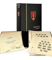 Schaubek A-DS606N Album Danzig Standard, In A Screw Post Binder Superior Blue - Albums & Binders